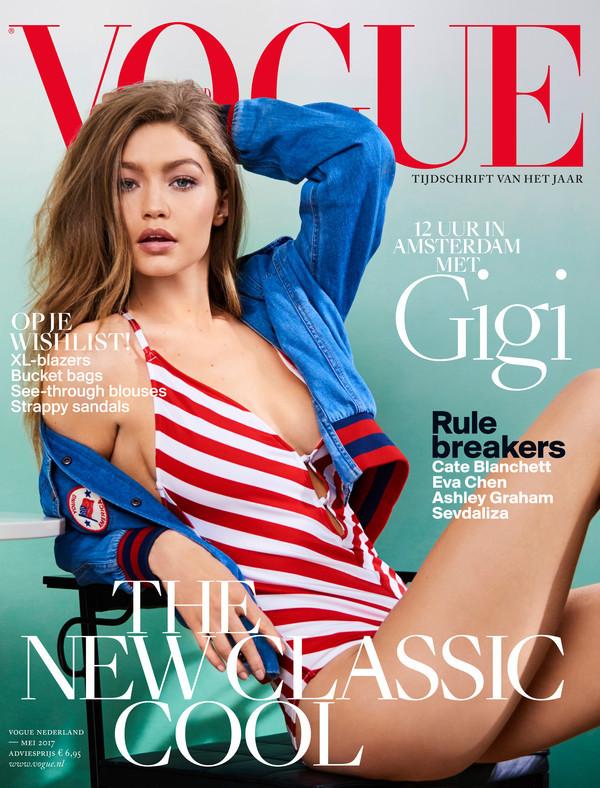 Supermodel Gigi Hadid Vogue Covershoot At Villa Nicola